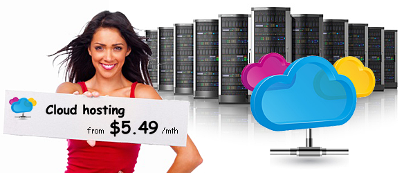 Cloud hosting from $4.88